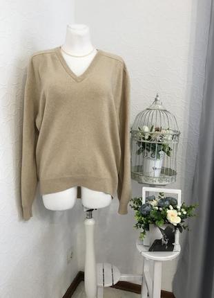 Удивительный мягкости кашемировый свитер 💯 % кашемир 🐐 pringle