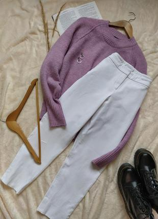 Идеальные белые брюки the white company