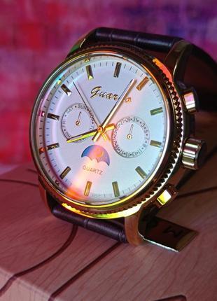 Часы guardo 06784 brown-gold