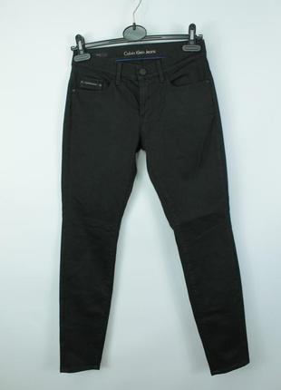 Стильные оригинальные джинсы calvin klein skinny fit black jeans