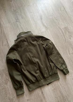 Новый бомбер куртка блейзер хаки4 фото