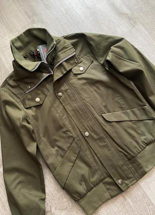 Новый бомбер куртка блейзер хаки3 фото