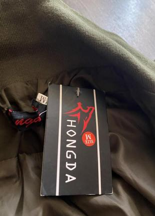 Новый бомбер куртка блейзер хаки5 фото
