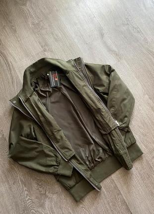 Новый бомбер куртка блейзер хаки7 фото