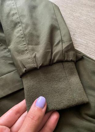 Новый бомбер куртка блейзер хаки9 фото