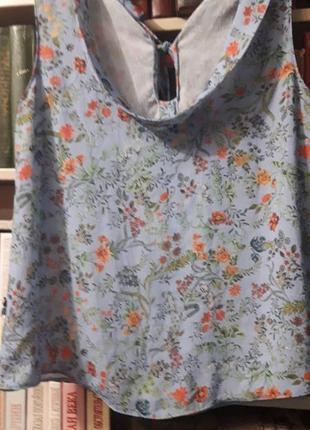 Милая блуза в цветочный принт