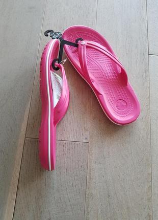 Шлепки шлепанцы вьетнамки crocs crocband flip , оригинал