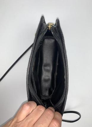 Италия! кожаная фирменная актуальная  сумочка на/ через плечо vivaldi.8 фото