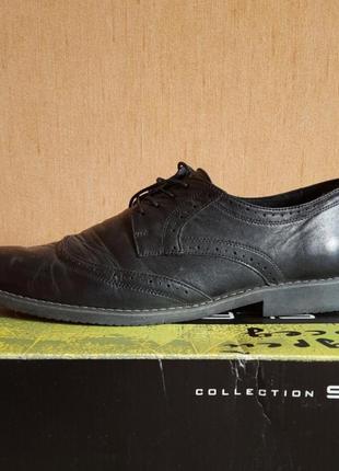 Мужские кожаные туфли 44-45