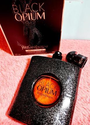 Yves saint laurent black opium  женская парфюмированная вода блук опиум 90мл духи