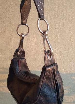 Кожаная сумочка vera pelle
