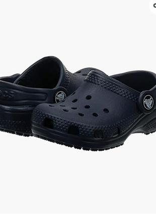 Детские кроксы сабо клоги crocs classic roomy fit, оригинал
