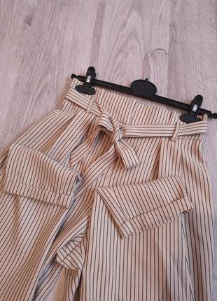 Стильные брюки в полоску на талии от primark5 фото