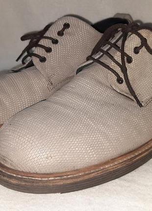 Кожанные туфли monomio p.44 италия