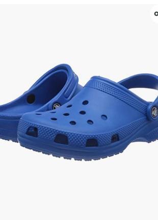 Детские кроксы клоги сабо crocs classic roomy fit , оригинал