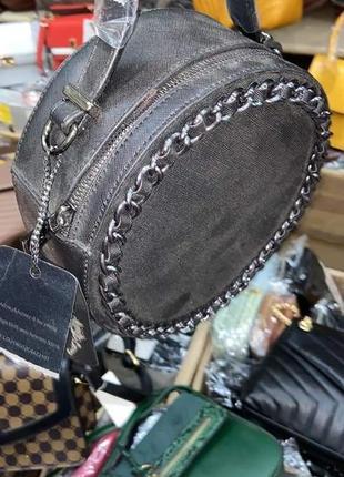 Симпатична кругла сумочка(замінник)/италия4 фото