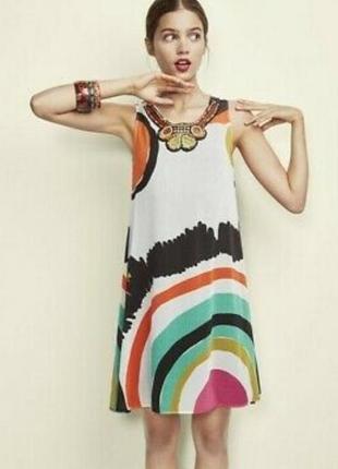 Лёгкое, воздушное платье-сарафан desiqual, нюанс