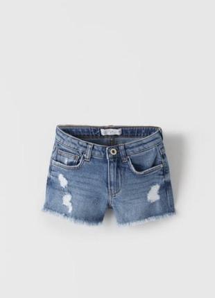 Zara оригинал джинсовые шорты выкуплены в испании!