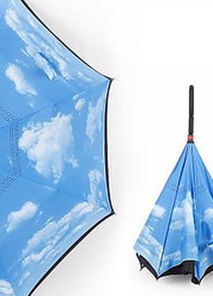 Зонт наоборот обратного сложения
