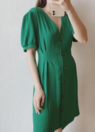 Платье на пуговках