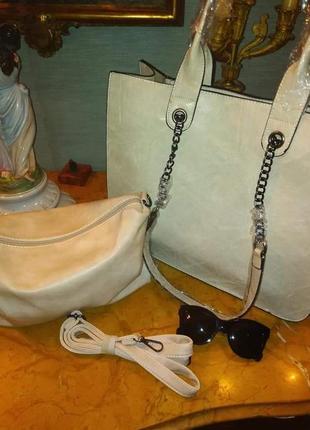Комплект сумок 2 в 1(замінник)1 фото