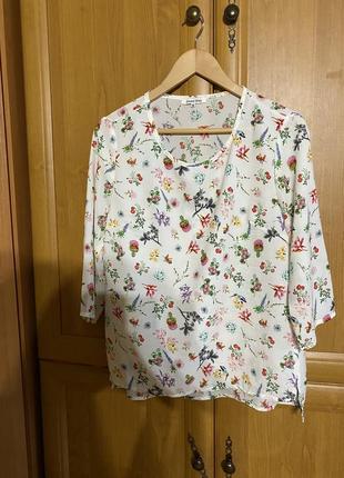 Блуза оверсайз