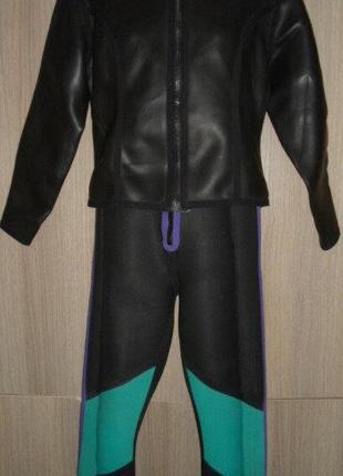 Гидрокостюм camaro для дайвинга,серфинга раздельный куртка комбинезон размер l