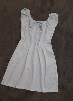 Идеальное коттоновое летнее платье / сукня/ сарафан