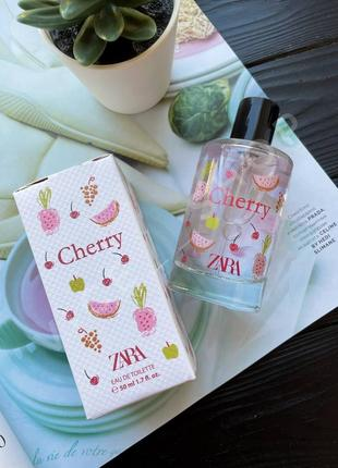 Zara cherry духи парфюмерия туалетная вода парфюм оригинал испания