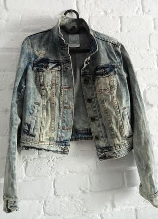 Джинсовая куртка, пиджак джинсовый