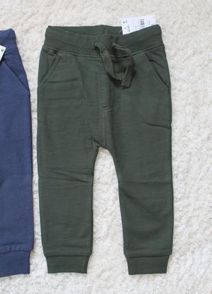 Спортивные утепленные штаны next 1,5-2 года (86-92см)