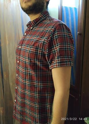 Рубашка в клеточку burton menswear london