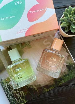 Zara wonder rose applejuice духи парфюмерия туалетная вода парфюм оригинал испания