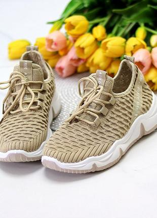 Модные легкие дышащие тканевые текстильные женские кроссовки в разные цвета6 фото