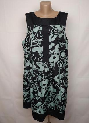 Платье красивое в принт большого размера monsoon uk 22/50/4xl