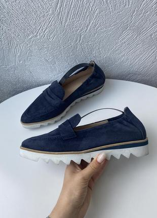 Кожаные туфли hogl