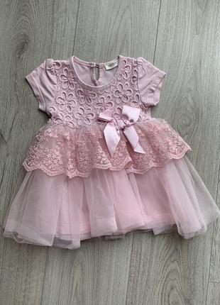 Красивейшее платье для девочки на годик
