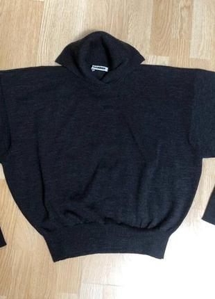 Jil sander  винтажный шерстяной свитерок , размер указан 40