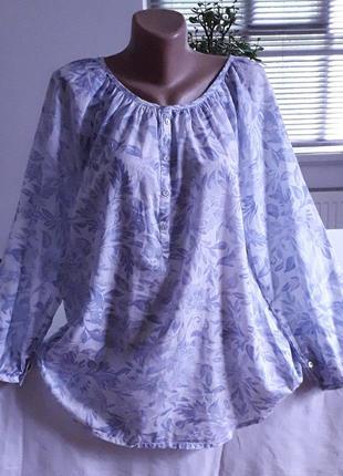 Натуральная блуза.  48-50р.  (см.замеры)