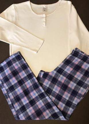 Піжамка,піжама 100% котонова , домашній костюм р-р м