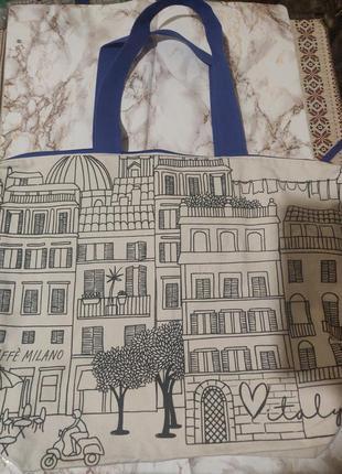 Красивая сумка на лето