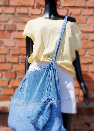 Еко сумка пляжна сумка торбинка