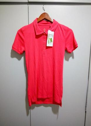 S р натуральная поло футболка c&a