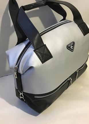 Новая женская сумка трансформер на боковых карабинах