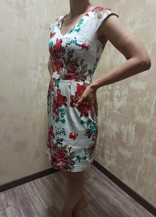 Белое платье perzoni
