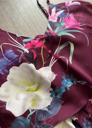 Стильный комбинезон в цветочный принт от дорогого бренда lipsy4 фото