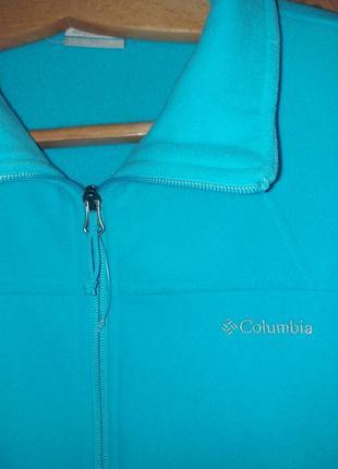 Флисовая кофта известного бренда сolumbia