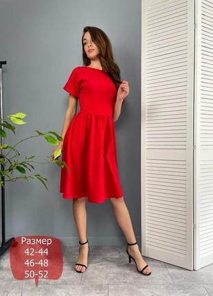 Жіноче плаття міді з відео оглядом  норма батал / женское платье миди варианты