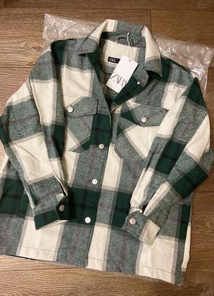 Стильная рубашка от zara