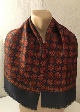Статусный винтажные мужской шарф 65*120
